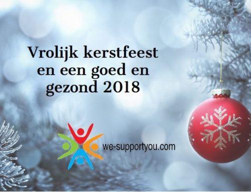 Vrolijk kerstfeest en een goed en gezond 2018